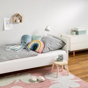 Tapis lavables pour enfants Bambini Butterflies Rose 120x180 cm - Tapis lavable pour chambre denfants/bébé