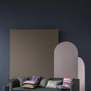 ferm LIVING Coussin Salon 40 x 40 - Mosaïque bleu