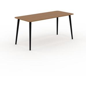 Table à manger - Chêne, design scandinave, pour salle à manger ou cuisine nordique - 160 x 75 x 70 cm, personnalisable