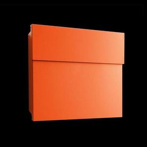 Boîte aux lettres Letterman IV orange et pratique