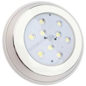 Spot LED Piscine en Saillie Inox 9W - LEDKIA