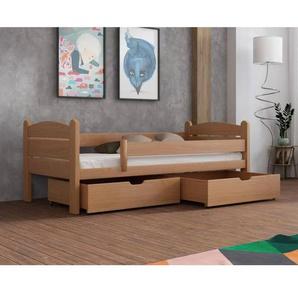 Lit Matis junior personnalisable - Hêtre - 80 cm x 160 cm