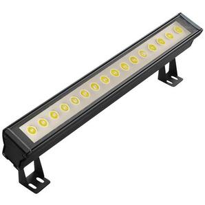 WALL WASHER-Lèche Mur dextérieur LED 6500K 2400 Lumens 48W L60cm Noir Lumihome