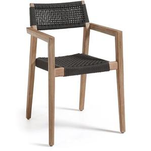 Kave Home - Chaise Vetter noir