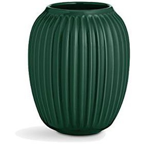 Kähler Hammershøi Grand vase, hauteur: 25 cm, Céramique, vert, Ø 16 cm - Höhe 20 cm