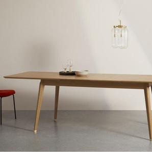 Albers, table extensible pour 6 à 12 personnes, chêne