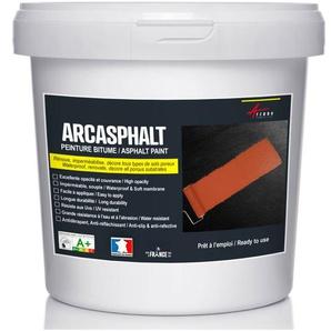 Peinture pour bitume goudron et asphalte ARCASPHALT - Rénove sol extérieur en béton et enrobé - ARCANE INDUSTRIES - Vert tennis - 25 Kg pour 50m2 en 2 couches