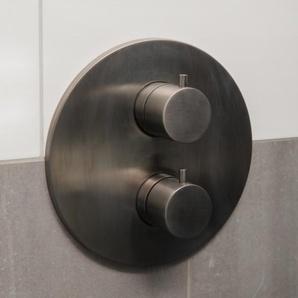 Hotbath Cobber Mitigeur douche encastrable trou(s) de robinet trou(s) de robinet avec inverseur 2 voies fer antique CB009AI