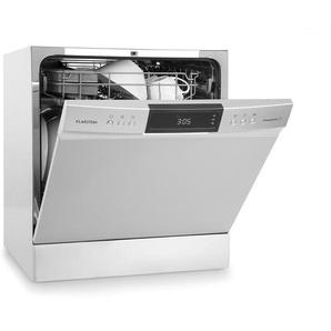 Klarstein Amazonia 8 Neo Lave-vaisselle de table 8 programmes classe A+ - gris
