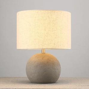 Lampe de table zen abat jour tissu - Terra
