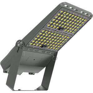 Projecteur LED Pro Asymétrique Luxeon 200W 160 lm/W Mean Well ELG Dimmable avec Support - LEDKIA