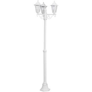 LATERNA-Lampadaire dextérieur 3 Lumières Aluminium H192cm Blanc Eglo