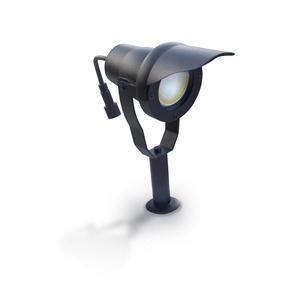 Projecteur Alu noir avec ampoule LED 6,5W fournie Easy Connect IP67 ref. 65250 - EC-65250
