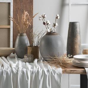 Vase décoratif gris LAURI