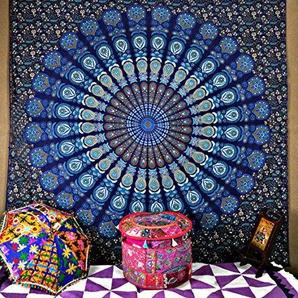 Grand mur Décoration à suspendre Hippie Mandala Tapisserie Couvre-lit Couvre-...
