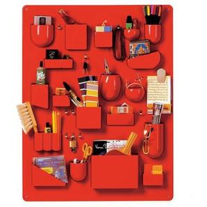 Vitra Uten.Silo I - Rangement mural - rouge/brillant/87 x 67 x 6.5 cm