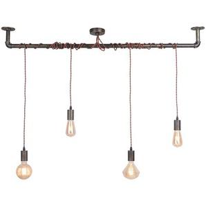 Suspension LED à quatre lampes Maxie