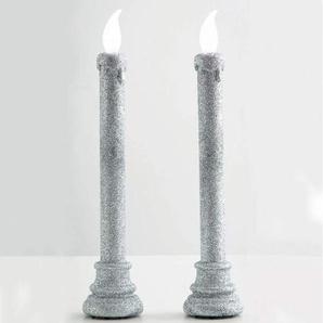 2 chandeliers Led Rouge Enchanté