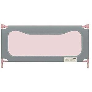 MY1MEY Barrière de lit, barrière de lit pour Enfant, Baffle latéral de lit Anti-Chute Respirant et Anti-Collision, Hauteur 88 (Gris, 180cm)