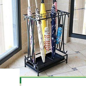 JYXJJKK Porte-Parapluie étage,Rack Parapluie Stockage de crémaillère de Pluie-O