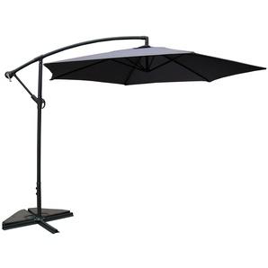 Porticcio gris : Parasol déporté Ø 300cm