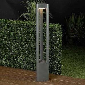Borne lumineuse LED Nanna en aluminium