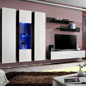 Ensemble TV blanc et noir MAZARA