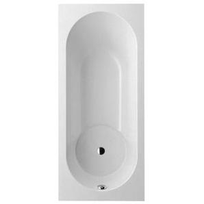 Baignoire Villeroy and Boch Quaryl rectangle Libra Solo, UBQ167LIB2V 1600x700mm, pieds de baignoire inclus, Coloris: blanc-alpin - UBQ167LIB2V-01 - VILLEROY & BOCH