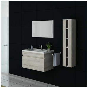 Meuble de salle de bain DIS800A Scandinave - DISTRIBAIN