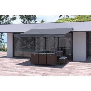 Store banne gris 3820 x 3000 mm - CONCEPT-USINE