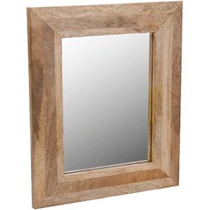 Miroir rectangulaire en bois 40x50cm