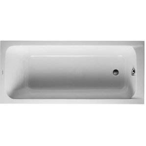 Baignoire Duravit D-code 1700 x 750 mm - avec pieds - Acrylique Blanc