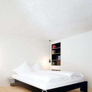 Moormann Lit Siebenschläfer - blanc - 200 x 200 cm - noir (FU)