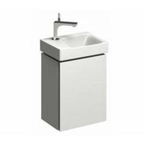 Geberit Geberit Xeno 2 Meuble sous-lavabo pour lave-mains 500.502. 380x525x265mm, 1 porte, Coloris: Laque brillante blanche - 500.502.01.1