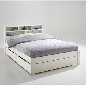Ensemble lit, tête de lit et sommier Nikkö