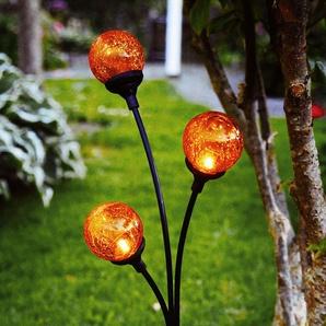 Lampe solaire décorative Trieste avec trois boules