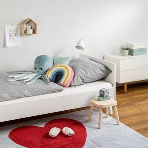 Tapis lavables pour enfants Bambini Heart Bleu 150x200 cm - Tapis lavable pour chambre denfants/bébé