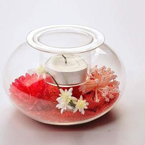 SKKMALL Nouveau Creative Transparent Glass Chandelier Paysage Chandelier Accessoires de mode (Size : M)