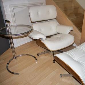 Fauteuil Lounge Eames - Noyer