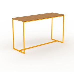 Table console en NULL, bois certifié, design scandinave, pour chambre ou entrée sophistiquée - 121 x 71 x 42 cm, personnalisable