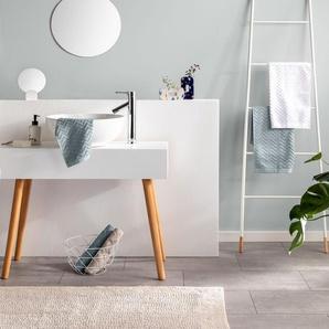 Tapis de Bain Loops Beige 50x80 cm - Tapis pour salle de bain