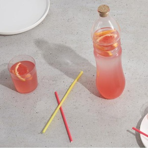 Essentials - Andi, bouteille en verre avec bouchon de liège, transparent