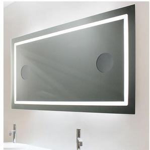 Miroir de salle de bains avec éclairage LED - Modèle 120 - 65 cm x 120 cm (HxL) - PRADEL