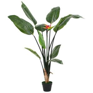 Plante artificielle Strelitzia Reginae Oiseau de Paradis 155 cm - VIDAXL