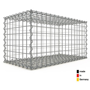 Gabion 80x40x40cm « made in Germany » - mailles carrées 5x5cm - GABIONDECO