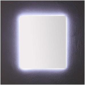 Miroir De Salle De Bain 80X70 Cm Avec Rétro-Éclairage À Leds - KIAMAMI VALENTINA