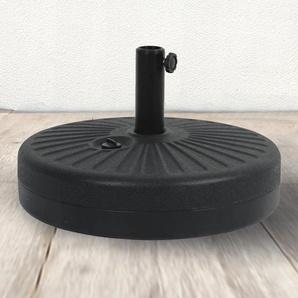 Pied de parasol circulaire en plastique résistant