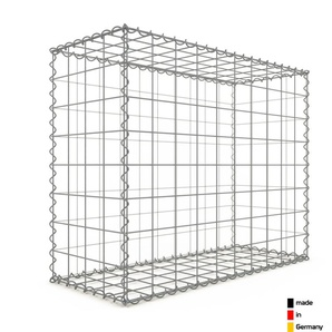 Gabion 100x80x40cm « made in Germany » - mailles carrées 10x10cm - GABIONDECO