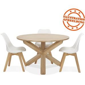 Table ronde en chêne massif FATY design