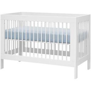 Lit bébé évolutif Harmonie - Blanc